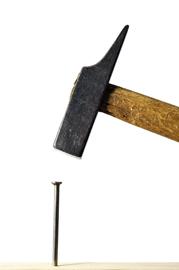einfach lernen Praxis Hammer und Nagel