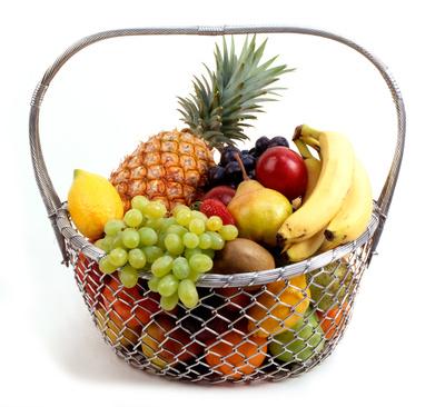 Gedächtnistraining Obstkorb