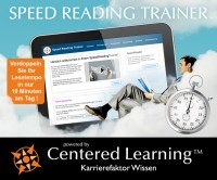 Speed Reading lernen online Trainer